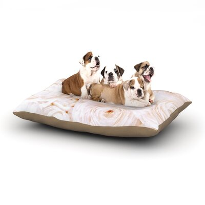 Blue Lagoon Dog Bed Size: 28 L x 18 W