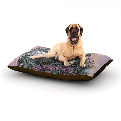 Land of The Sleeping Giant Dog Bed Size: 60 L x 50 W