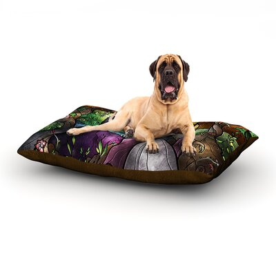 I Know You Dog Bed Size: 60 L x 50 W