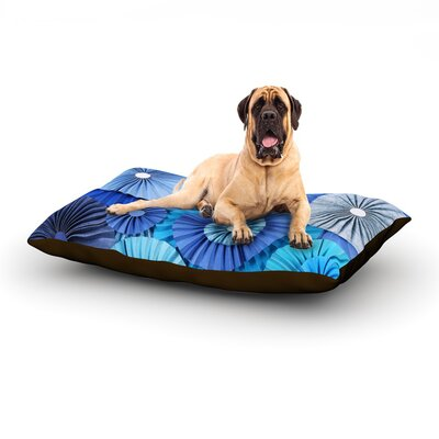 Blue Lagoon Dog Bed Size: 60 L x 50 W