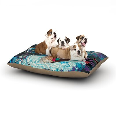 Delicate Distraction Dog Bed Size: 40 L x 30 W