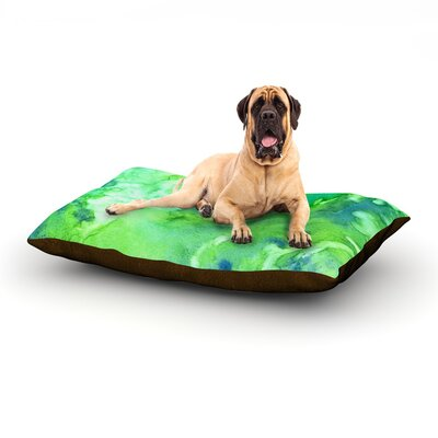 'Touch of Blue' Dog Bed Size: 40