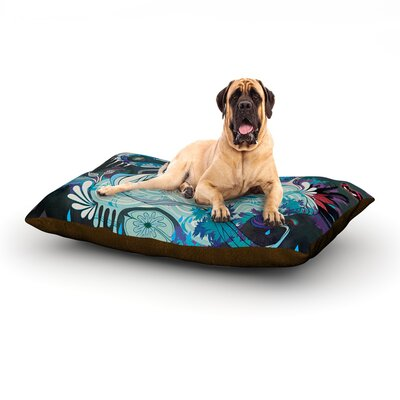 Delicate Distraction Dog Bed Size: 60 L x 50 W