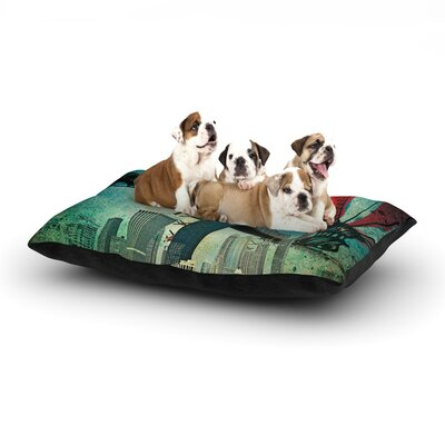Chicago Dog Bed Size: 40 L x 30 W