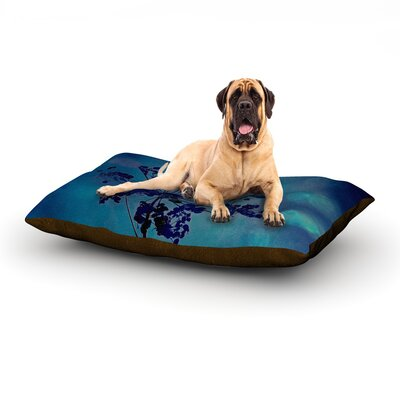 Grapesiscle Dog Bed Size: 60 L x 50 W