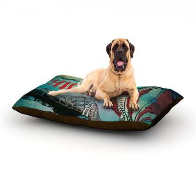Chicago Dog Bed Size: 60 L x 50 W