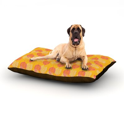 Wild Summer Dandelions Dog Bed Size: 60 L x 50 W
