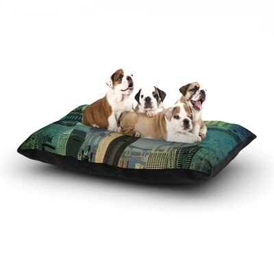 San Diego Dog Bed Size: 40 L x 30 W