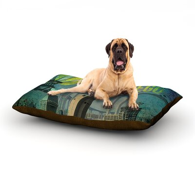 San Diego Dog Bed Size: 60 L x 50 W