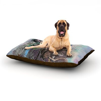 Forest Warden Dog Bed Size: 60 L x 50 W
