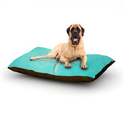 Starfish Dog Bed Size: 40 L x 30 W