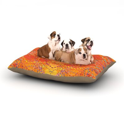 Sunrise Dog Bed Size: 40 L x 30 W