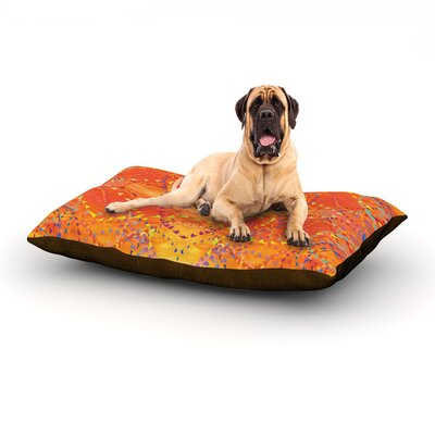 Sunrise Dog Bed Size: 60 L x 50 W