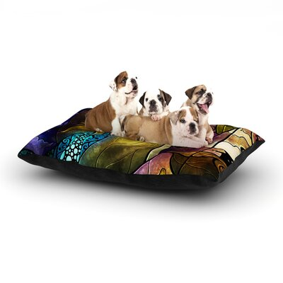 Fairy Tale off to Neverland Dog Bed Size: 40 L x 30 W