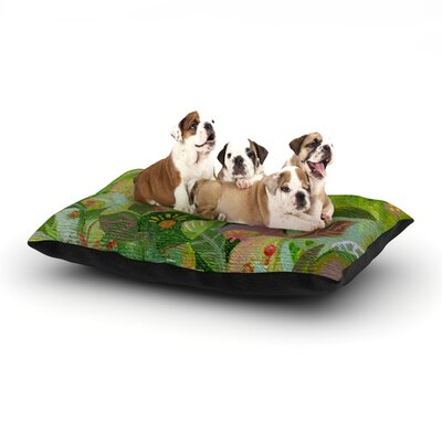 Jungle Dog Bed Size: 40 L x 30 W