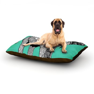 Elephant of Namibia Color Dog Bed Size: 40 L x 30 W