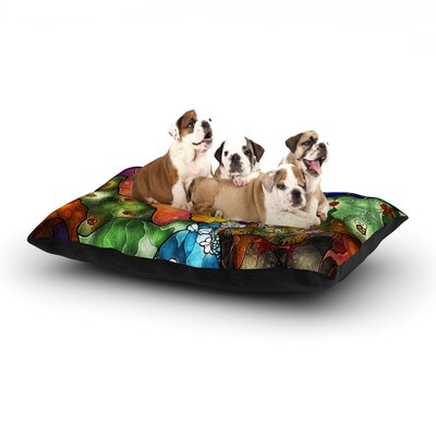 Fairy Tale Alice in Wonderland Dog Bed Size: 28 L x 18 W