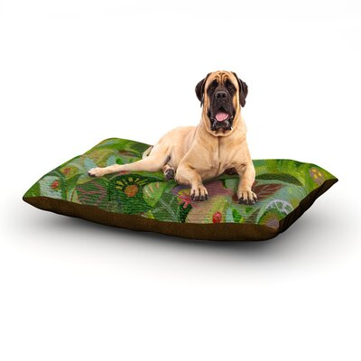 Jungle Dog Bed Size: 60 L x 50 W