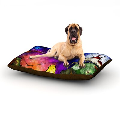 Fairy Tale Alice in Wonderland Dog Bed Size: 60 L x 50 W