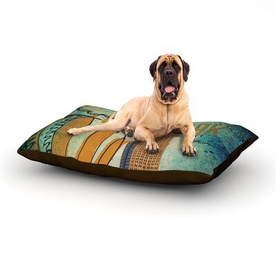 New York Dog Bed Size: 60 L x 50 W