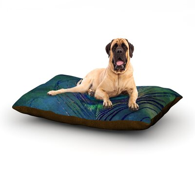 Plume Dog Bed Size: 40 L x 30 W