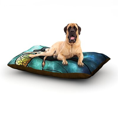 Mermaid Dog Bed Size: 60 L x 50 W