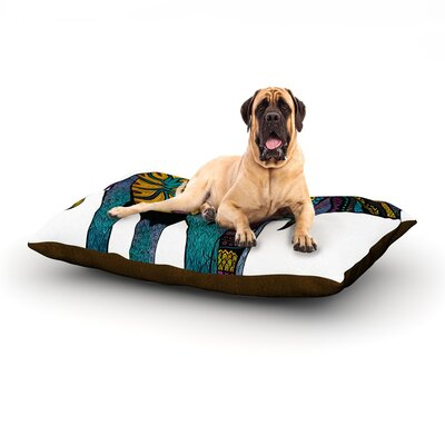 Elephant of Namibia Dog Bed Size: 40 L x 30 W