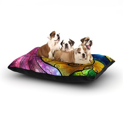 Starry Lights Dog Bed Size: 28 L x 18 W