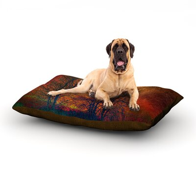 Silhouettes Dog Bed Size: 40 L x 30 W