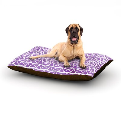 Tribal Mosaic Dog Bed Size: 40 L x 30 W