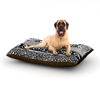 Tribal Evolution Dog Bed Size: 28 L x 18 W