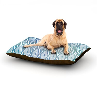 Tribal Empire Dog Bed Size: 40 L x 30 W