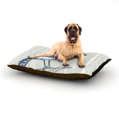 Blue Jay Dog Bed Size: 60 L x 50 W