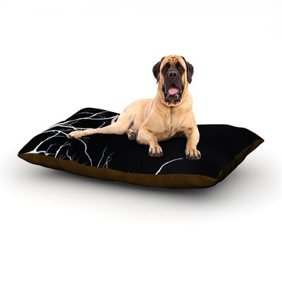 Winter Black Dog Bed Size: 40 L x 30 W