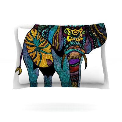 Pom Graphic Design Elephant of Namibia Featherweight Sham Size: Standard, Fabric: Cotton