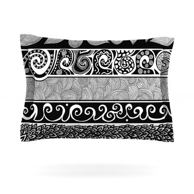 Pom Graphic Design Tribal Evolution Featherweight Sham Size: Queen, Fabric: Cotton