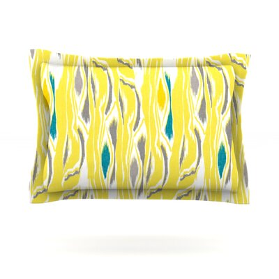 Gill Eggleston Barengo Sunshine Featherweight Sham Size: King, Fabric: Cotton