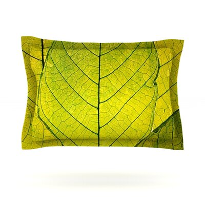 Robin Dickinson Every Leaf a Flower Featherweight Sham Size: King, Fabric: Cotton