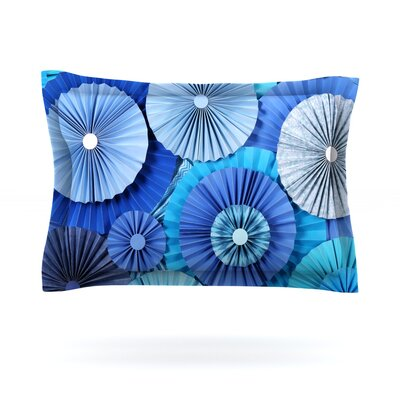Blue Lagoon by Heidi Jennings Woven Pillow Sham Size: King