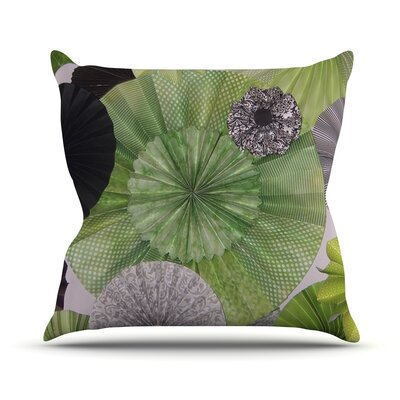 Serenity Outdoor Throw Pillow Size: 16 H x 16 W x 3 D