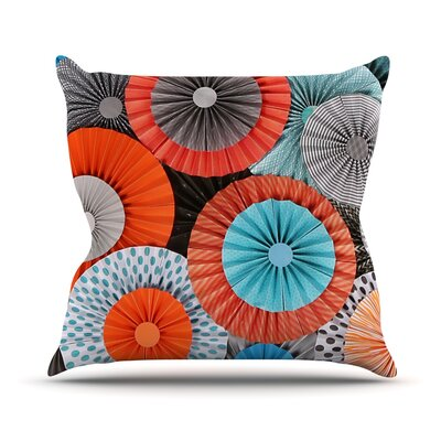 Breaking Free Outdoor Throw Pillow Size: 18 H x 18 W x 3 D