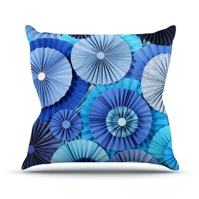 Lagoon by Heidi Jennings Throw Pillow Size: 16 H x 16 W x 3 D