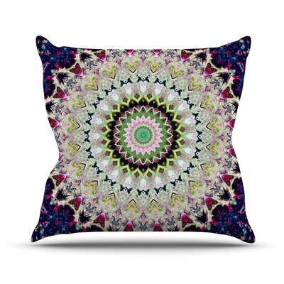 Summer of Folklore by Iris Lehnhardt Throw Pillow Size: 26 H x 26 W x 5 D