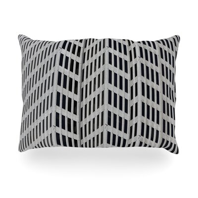 The Grid Outdoor Throw Pillow Size: 14 H x 20 W x 3 D