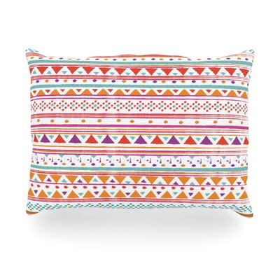 Native Bandana Outdoor Throw Pillow Size: 14 H x 20 W x 3 D