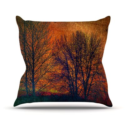 Silhouettes Outdoor Throw Pillow Size: 26 H x 26 W x 4 D