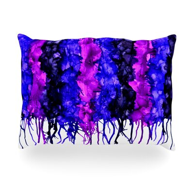 Drops Outdoor Throw Pillow Size: 14 H x 20 W x 3 D