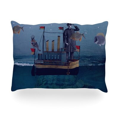 The Voyage Outdoor Throw Pillow Size: 14 H x 20 W x 3 D