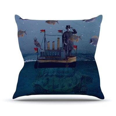 The Voyage Throw Pillow Size: 18 H x 18 W