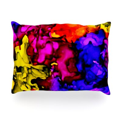 Chica Outdoor Throw Pillow Size: 14 H x 20 W x 3 D